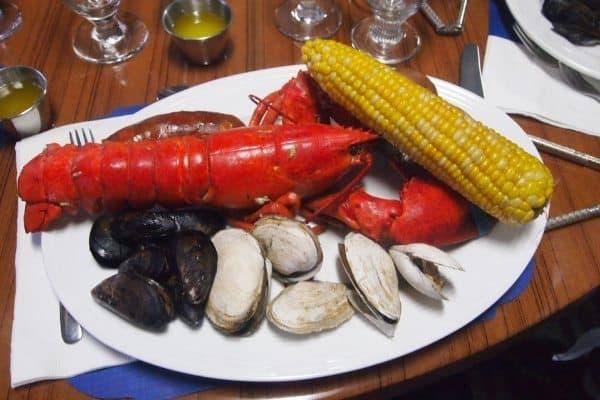 A lobster bake on Martha's Vineyard.