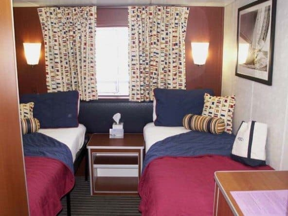 Our cabin 55A on the Grand Caribe.