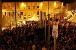 Bandas is the most exciting event in Condom, thousands come to hear dozens of brass bands playing all night.