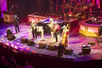 The Riders in the Sky playing at Nashville's Grand Ole Opry. Cathie Arquilla photos.