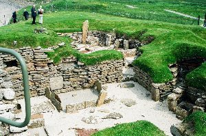 Skara Brae, some of the fanastic ruins found in the islands.