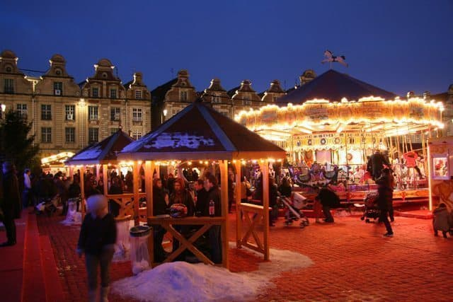 The Arras France Christmas market is a December highlight of this ancient town in Northern France.