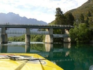 The trip includes a jetboat trip up the scenic Dart River, which is spectacular. Max Hartshorne photo.