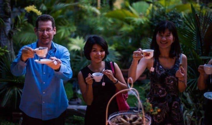 Tea Party in Thailand