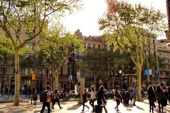 Barcelona: A Week As a Model