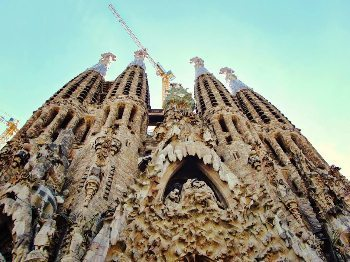 La Sagrada Familia an iconic scene of Barcelona. Stephanie DiCarlo photo.
