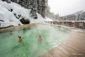 Granite hot springs
