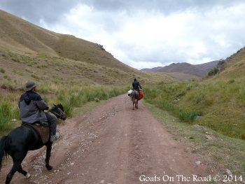 Riding horses in Searching For Song-kul - A Horse Trek In Kyrgyzstan.