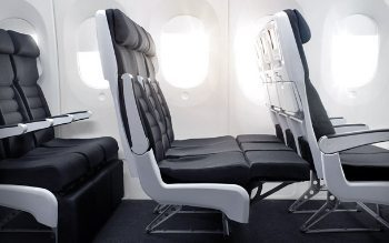 Air New Zealand's Skycouch--before.