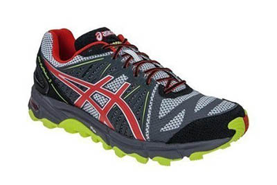 Asics Gel-Fuji Trabuco running shoes.