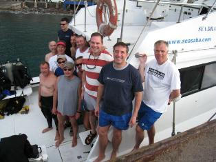 A gay diving adventure in Saba, hosted by Undersea Expeditions, a gay friendly dive outfit on the island.