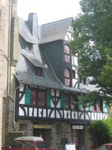 The Castle Burg in Solingen.