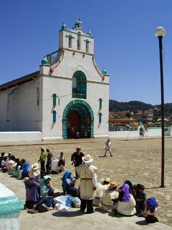 chamula chiapas town square