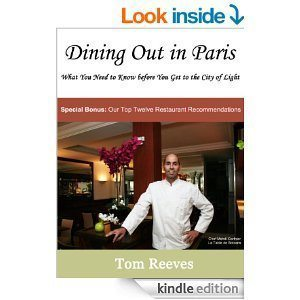 Dining out in paris ebook.