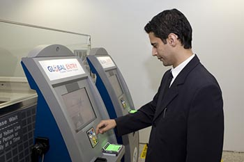 Global Entry Pass is as easy as visiting a kiosk, at least that's what we're told!