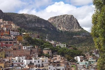Guanajuato, Mexico, where the author lives.