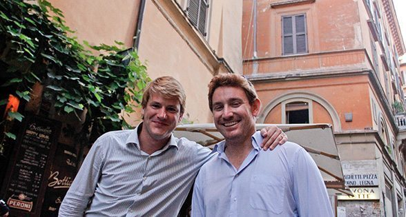 Jason (left) and Stephen, co-founders of Walks of Italy