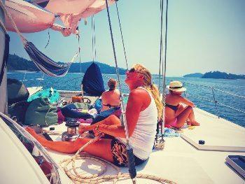Cruising Burma's Myeik archipelago. Breawna Power Eaton photo.