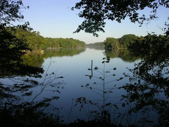 Pickering Creek in Easton, Maryland.