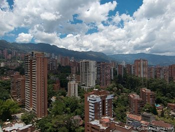 Medellin, Colombia, a famously affordable place to live.