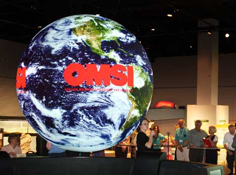 Discover Science at OMSI museum in Portland, Oregon.