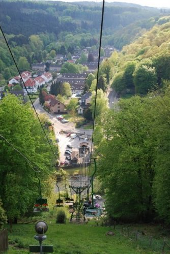 The pretty view down to Solingen.