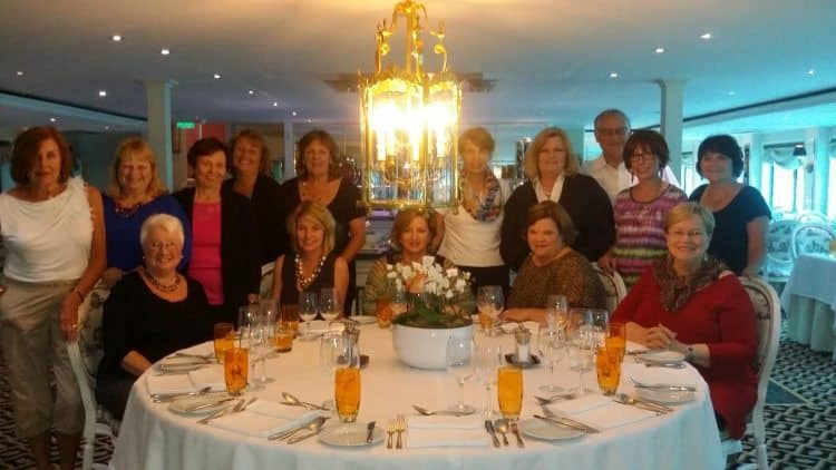 April Merenda and Gutsy Women Travel group on their recent Normandy River Cruise.