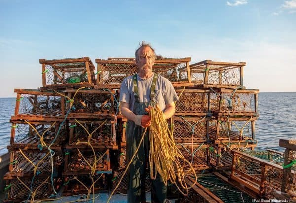 Joe Gillis lobsterman in Iinverness, PEI.