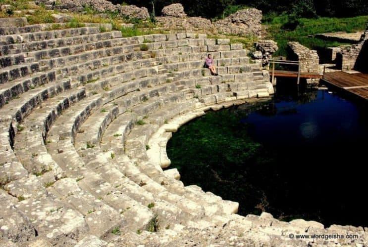 Amphitheater at Burint