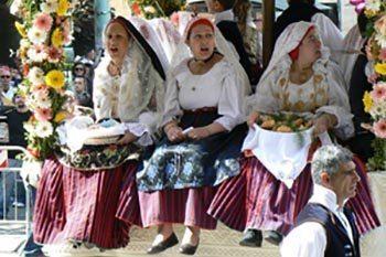 The Festival of Sant Éfisio, Sardinia Italy