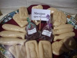 Marzipan cheese