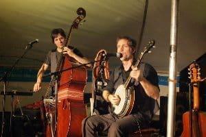 Musicians at Festival du Voyageurs.