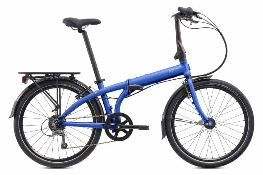 David Byrne tours the world and brings along this Tern folding bike to seek out adventures while touring.