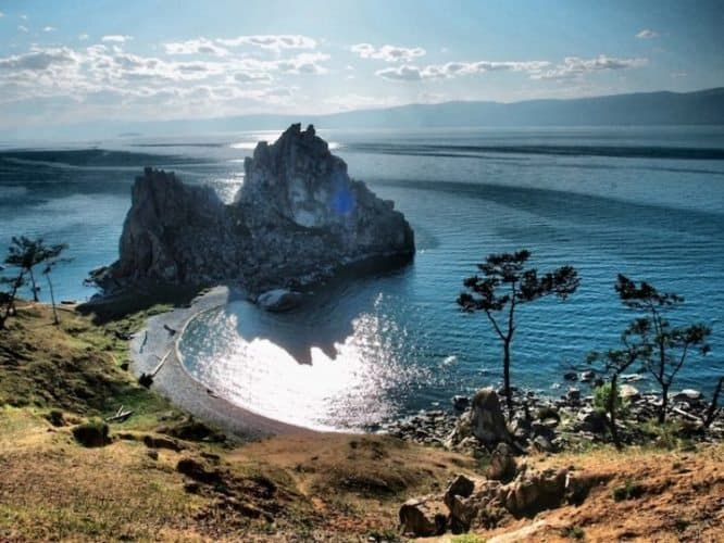 You'll visit the beautiful Olkhon Island.