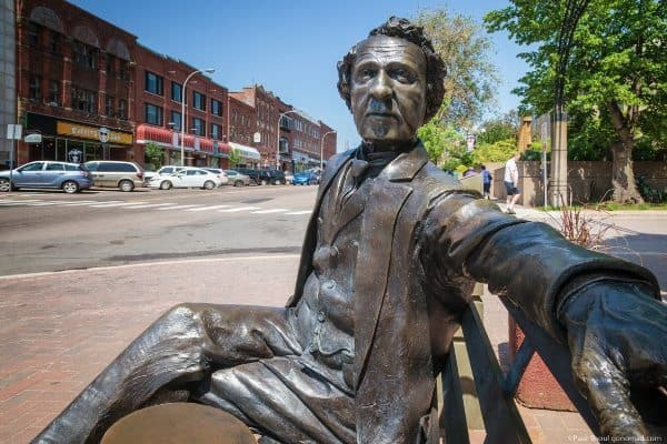 Sir John Macdonald in Charlottetown PEI