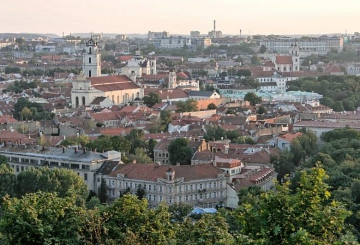 Exploring Vilnius, Lithuania on Foot