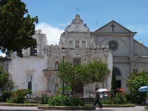 The colonial atmosphere of Quetzaltenango, Guatemala.