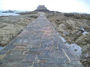 Fort du Petit be Ile du Grand Be in Saint Malo.