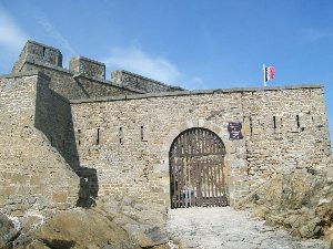 Fort National at Saint Malo.