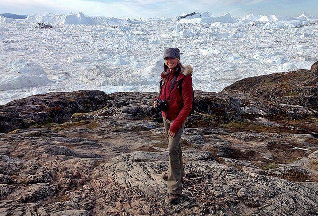 The 40 km long Ilulissat icefjord