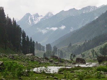 Lidderwat Valley in Kashmir.