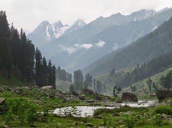 Lidderwat Valley in Kashmir.