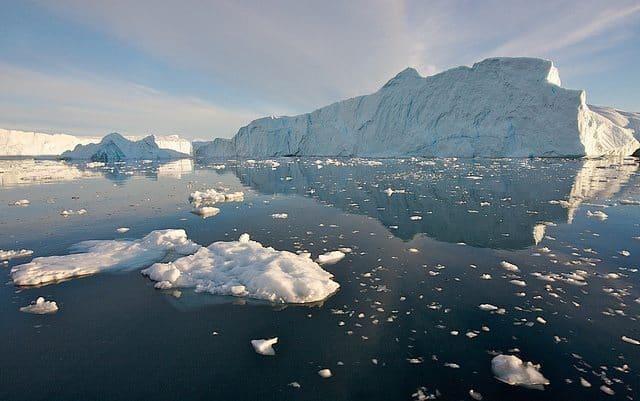 A big iceberg