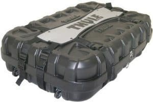 This Thule bike case costs around $350 and is a great way to ship your bike anywhere by plane or bus safely.