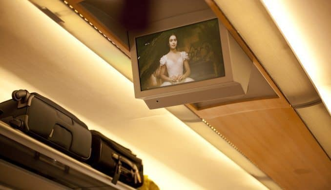 Trains will be equipped with entertainment systems, like their airplane counterparts.