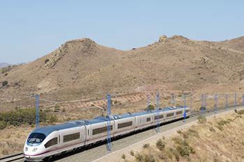 AVE: Traveling Through Spain at 250km per hour