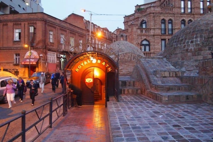 Tbilisi's Royal Baths are a sulfurious treat, not to be missed.