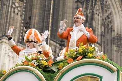 The Cologne carnival parade.