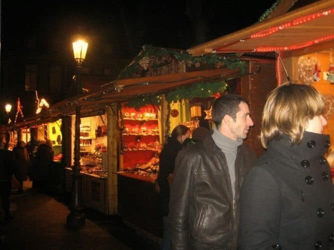 Italy is full of Christmas markets--who would want to shop in a mall when you can go to an exciting city center?