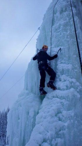Climbing off the Yukon North Klondike Highway.